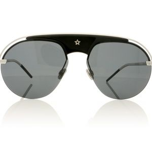 DIOR Aviator Sunglasses Black/Silver
